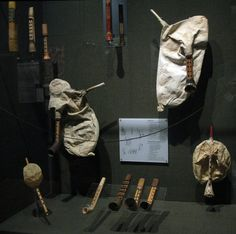 Greece's answer to bagpipes, at the Museum of Greek Folk Instruments (Photo by…