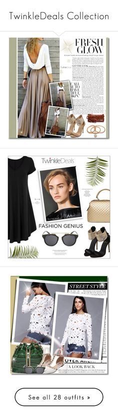 """""""TwinkleDeals Collection"""" by amethyst0818 ❤ liked on Polyvore featuring Pier 1 Imports, Bomedo, Anja, Essie and vintage"""