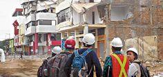 Ingenieros de Tecnalia analizan los efectos del terremoto que sufrió el pasado abril Ecuador