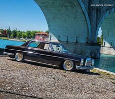 Mercedes Benz – One Stop Classic Car News & Tips Mercedes 220, Mercedes W114, Custom Mercedes, Mercedes Benz Cars, Bbs, Classic Mercedes, Air Ride, Boat Design, Diesel