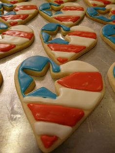 """Memorial Day cookies,"" by jcookies!, via Flickr -- No recipe, just decorating inspiration."