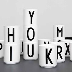Bogstavkop fra Design Letters - Shop Online hos Decorateshop.dk ⎢ Decorate Shop