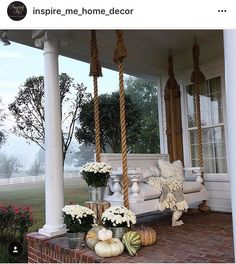 And here is this delightful porch once again!!!