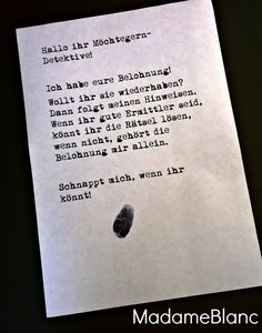 Detektivparty Kindergeburtstag Detektivspiel Mehr