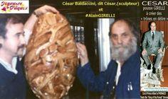 #AlainGirelli. In 1970 #CésarBALDACCINI  became a professor at the School of Fine Arts in Paris. //  https://fr.wikipedia.org/wiki/C%C3%A9sar_(sculpteur)
