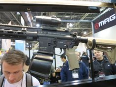 Seeing as how America's Rifle, aka the AR-15, is hands down thee most popular rifle in the United States, there's certainly no shortage of do-dads and add-ons to morph it into the perfect fit for your application. Up in the rarified air that is SHOT Show, we're exposed to hundreds of new AR accessories, some [&hellip