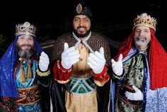 Three wise kings /Los tres Reyes Magos de Juana Díaz, Puerto Rico!  By: José Fernández Colón Via Jennifer Sandoval /Uprh