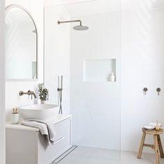 Home Interior Salas .Home Interior Salas Minimalist Bathroom Design, Bathroom Interior Design, Home Interior, Modern Bathroom, Small Bathroom, Master Bathrooms, Dream Bathrooms, Interior Modern, Minimalist Bathroom Inspiration