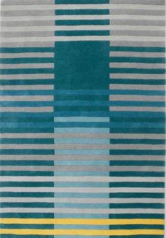 Wer hätte gedacht, dass schlichte Streifen ein so großartiges Muster bilden können? So modern und einfach: Damit ist dieser Weber Teppich ideal für jedes moderne Zuhause.