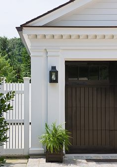 Pictures Of Hip Roof Pergola Over Garage Doors From