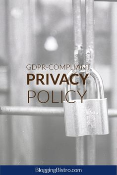 gdpr compliant privacy policy disclaimer and terms of use templates for your website