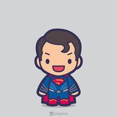 Does he bleed? #superman #manofsteel #clarkkent #krypton #batmanvsuperman #bvs #dawnofjustice #dc #dccomics #superhero #comics #movies #vector #chibi #cute #art #design #designer #illustrator
