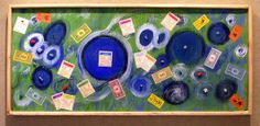 Monopoly Dreams ~ Jason Penland. Mixed Media. $120. This artwork can be viewed at the Muchnic Art Gallery in Atchison, Kansas.