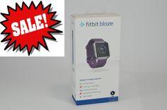 Fitbit - Blaze Smart Fitness Watch Activity Tracker (Large) - Plum (Purple)