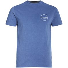 Buy Friend or Faux Men's Cresent T-Shirt - Blue from Zavvi, the home of pop culture. Take advantage of great prices on Blu-ray, merchandise, games, clothing and more! Men's Clothing, Wardrobe Staples, Casual, Mens Tops, T Shirt, Stuff To Buy, Blue, Clothes, Fashion