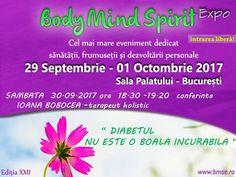 """Conferinta """" Diabetul NU ESTE O BOALA Incurabila """" Bucharest"""