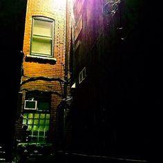 Dark alleys can be artfully scary.  #Windsor #ontario #canada #urban #urbanphotography #photooftheday #dark #outdoors #shadows