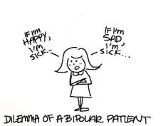 Bipolar Disorder Cartoons | ... life with a little spark to the head | bipolar disorder cartoon