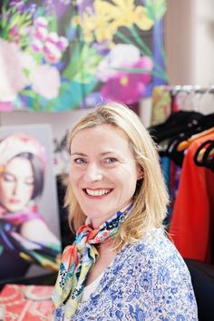 Textile designer Susannagh works from her studio in Dun Laoghaire, Co Dublin.