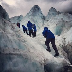 We'll have to head here too!!!! Gettin' up on that glacier, Franz Josef, New Zealand