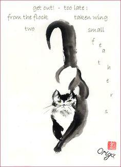 Simply Haiku: A Quarterly Journal of Japanese Short Form Poetry - Tradtional Haiga