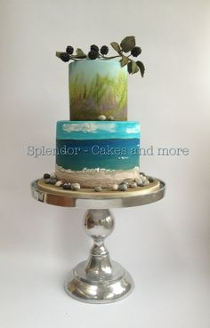 Greystones Inspired - by splendorcakes @ CakesDecor.com - cake decorating website