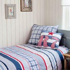 Bettwäsche Room Seven Newton Blau Baumwolle