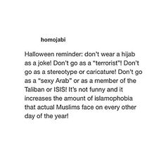Don't make fun of other races. Be polite.