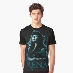 Warrior Princess, Tv Series, Mens Tops, T Shirt, Blue, Fashion, Supreme T Shirt, Moda, Tee Shirt