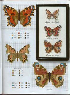 Cross-stitch More Butterflies, part 2...   Gallery.ru / Фото #25 - 221 - Yra3raza