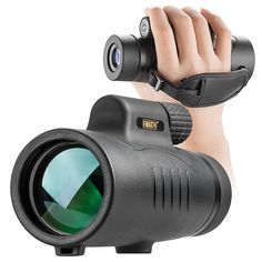 Monocular Telescope High Power Monoculars Scope Compact Portable Waterproof Fogproof Shockproof with Hand Strap for Adults Kids Bird Watching Hunting Camping Hiking Travling Wildlife Secenery - PhotoMania - Camera, Photo & Video Experts Gifts For Boaters, Cool Electronics, Tech Gifts, Camping, Backpacking, Bird Watching, Wide Angle, Telescope, Gifts For Dad