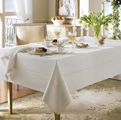 Waterford Linens Addison Linen Oblong 70 x 144in Table Cloth Pearl Ivory Waterford http://www.amazon.com/dp/B006KG2AEW/ref=cm_sw_r_pi_dp_KgQZwb1E75JPN