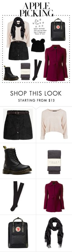 """""""I think apple picking is such a cute date idea """" by alternativexpunkxwhatever ❤ liked on Polyvore featuring Dr. Martens, Falke, Aéropostale, L'Autre Chose, Fjällräven and ASOS"""
