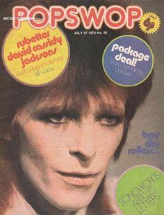 #davidbowie #1974 #popswop #magazine