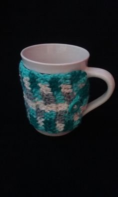 Colorful Cup Sleeve, Cup Cozy, Colorful  Cup Cozy, Mug Cozy by JsCreations05 on Etsy