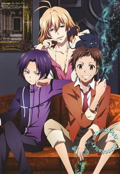 Servamp: Mahiru, Misono & Lily