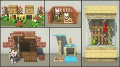 Craft Minecraft, Images Minecraft, Easy Minecraft Houses, Minecraft House Tutorials, Minecraft Room, Minecraft Plans, Minecraft House Designs, Minecraft Decorations, Minecraft Construction