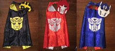 Transformer Cape, Bumble Bee Transformer, Optimus Prime Transformer, Transformer…