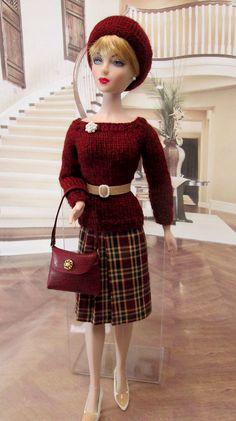 https://flic.kr/p/BHSUXa | Gene Madra Violet BCCan OOAK fashion 231a | On auction starting Dec 30/15