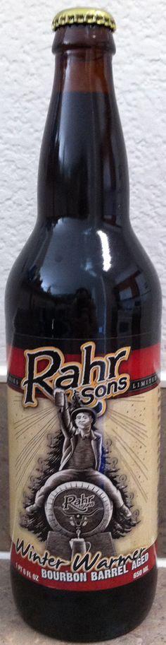 Rahr Bourbon Barrel Aged Winter Warmer