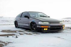 Crx all weather Honda Crx, Honda Civic, My Dream Car, Dream Cars, Import Cars, Japan Cars, Love Car, First Car, Jdm Cars