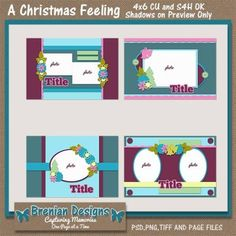 A christmas feeling 4x6 greeting card templates a christmas a christmas feeling 4x6 greeting card templates m4hsunfo