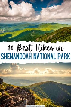Planning a trip to Shenandoah National Park in the Virginia Blue Ridge? Use this guide to find the 10 best hikes! See the Shenandoah from the famous Skyline Drive. Along the way, hike to the peaks for sweeping views and visit Shenandoah's waterfalls for some of the best hiking on the east coast. Shenandoah National Park, Sequoia National Park, Rocky Mountain National Park, Shenandoah Virginia, Shenandoah Valley, Shenandoah Mountains, Bryce Canyon, Grand Canyon, Usa
