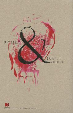 Romeo and Juliet poster by Dorrin Davoudi
