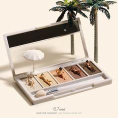 """""""Miniature Calendar"""" – Tatsuya Tanaka entwirft täglich neue Miniatur-Dioramen aus Alltagsgegenständen"""
