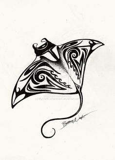 ef5984e0c 41 Best Manta ray tattoos images in 2018 | Polynesian tattoos, Manta ...