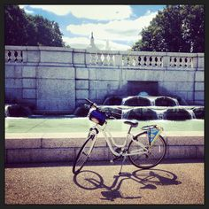 Bike ride by the Capitol