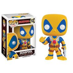 Buy Deadpool - Thumbs Up (Yellow) Pop! Vinyl Figure at Mighty Ape NZ. The Merc with a Mouth is invading the Pop! Vinyl line! This Deadpool Thumbs Up Pop! Vinyl Figure features the taco-lover giving a big thumbs up while. Funko Pop Deadpool, Funko Pop Marvel, Funko Pop Toys, Funko Pop Vinyl, Funko Pop Figures, Pop Vinyl Figures, Deadpool Action Figure, Funk Pop, Harry Potter