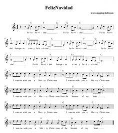 Feliz Navidad, a real Christmas hit by Jose Feliciano at Singing-Bell.com