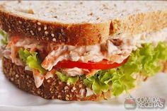Receita de Sanduíche natural especial - Comida e Receitas